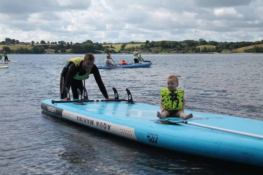 Ingen er for små til at have det sjovt på vandet, bare sikkerheden er i top.