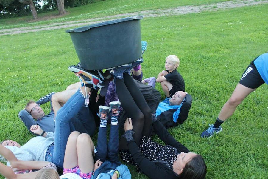 På familiecamp sørger for udfordringer du ikke har prøvet før