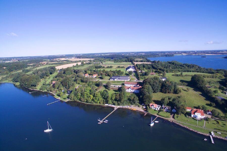 Vores camps i Kolding afholdes i fantastiske omgivelser lige ned til vandet